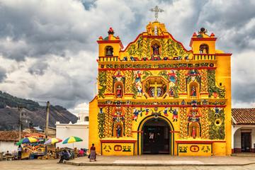 San Andrés Xecul, Catholic Church, Guatemala