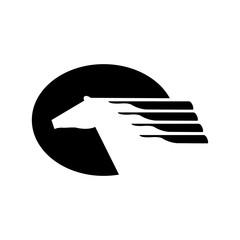 Horse Logo. Vector EPS 10