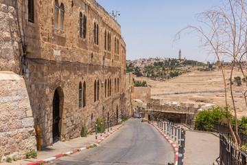 Road to the Wailing Wall in the Old City