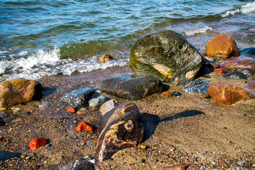 The Shore of Baltic Sea.