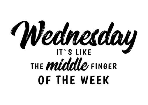 wednesday funny quote