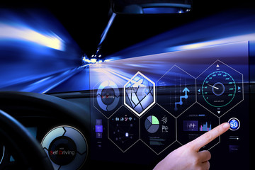 Technology in the near future, A self-driving car
