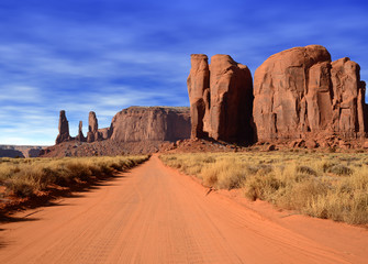 Wall Mural - Early Morning Monument Valley Arizona USA Navajo Nation