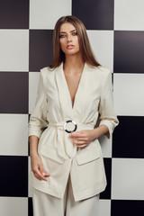 stylish fashion model