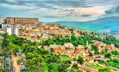 Wall Murals Algeria Skyline of Constantine, a major city in Algeria