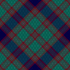 Diagonal tartan inspired vector seamless pattern background 3