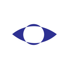 Eye Abstract Logo Vector
