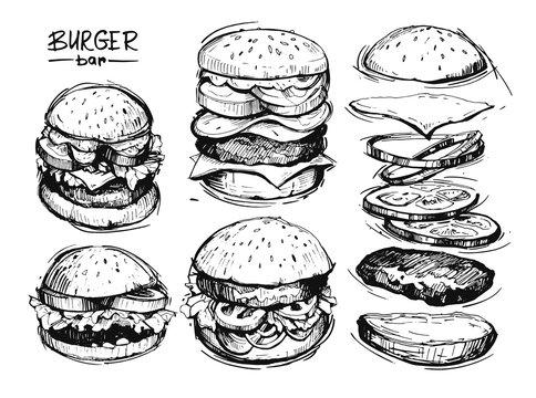 Burgers sketch