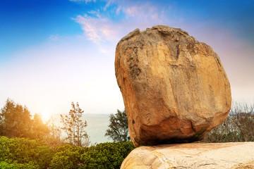 stone landscape.China Zhangzhou