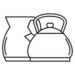 kitchenware utencils metal icons