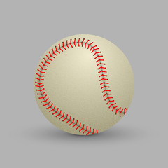 realistic baseball ball
