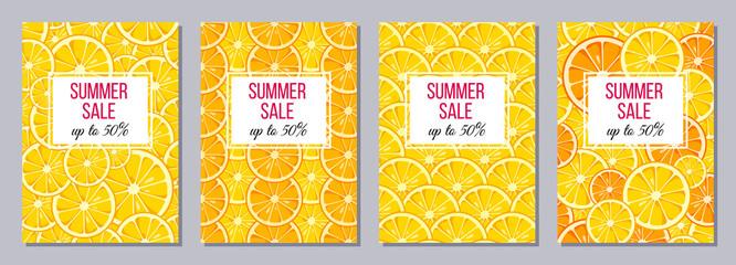 Summer Sale templates A6 size.