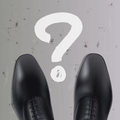 question - orientation - carrière - avenir -professionnel - choix - concept - homme - cadre