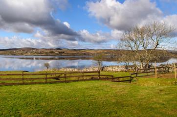 Isle of skye. Scottish landscape. Scotland, Great Britain