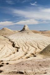Mud Volcano of Pirgel, Sistan and Baluchistan, Iran