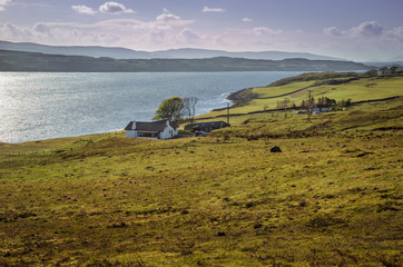 Scottish landscape, Isle of Skye. Scotland, Great Britain