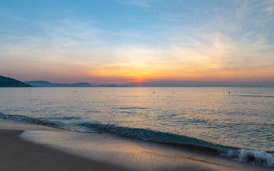 Vietnam Sunrise Seascape