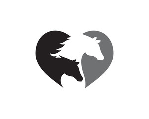 Horse Logo Template Vector icon