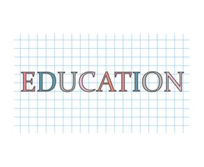 education concept- vector illustration