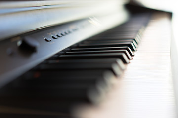 piano is waiting for the musicians to play the melody.