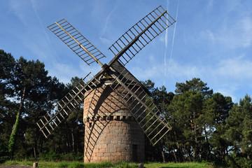 Deurstickers Molens moulin du Crac'h