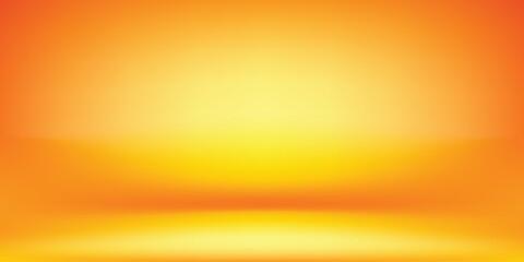 orange and yellow studio room  background