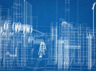 City Design Architect Blueprint