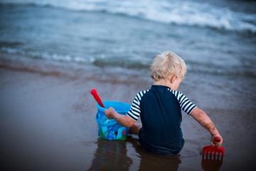 den Urlaub am Strand genießen