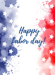 USA Happy Labor day