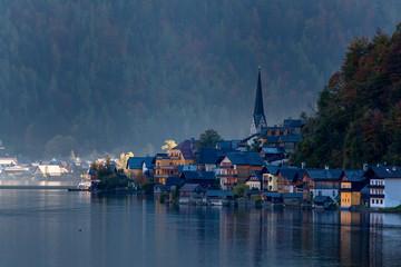 Hallstatt , lake Hallstatter Austria,