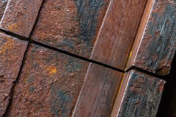 Stahlträger im Detail