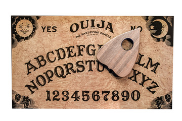 ouija board isolated
