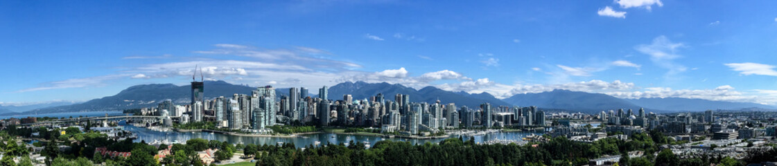 Vancouver Downtown Panorama Fototapete
