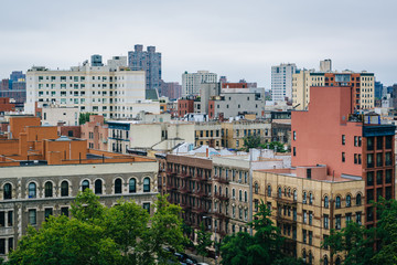 Wall Mural - View of Harlem from Morningside Heights, in Manhattan, New York City.
