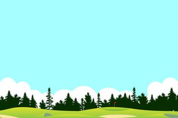 ゴルフ場 風景