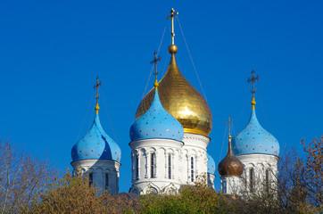 MOSCOW, RUSSIA - October, 2016: Novospassky Monastery