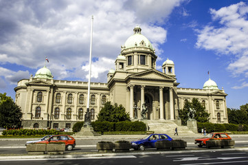 Beograd, Bundesparlament, Palast des Parlaments, Serbien-Montene