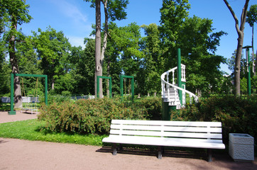 Alexandria Park in Peterhof, Russia