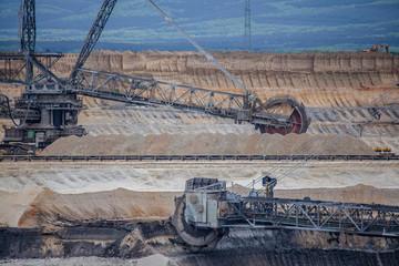 coal mining Landscape  Inden Germany RWE Power Industry