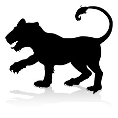 Tiger Animal Silhouette