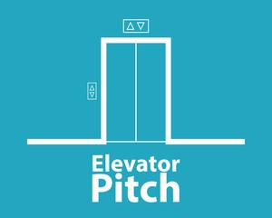 Elevator pitch concept