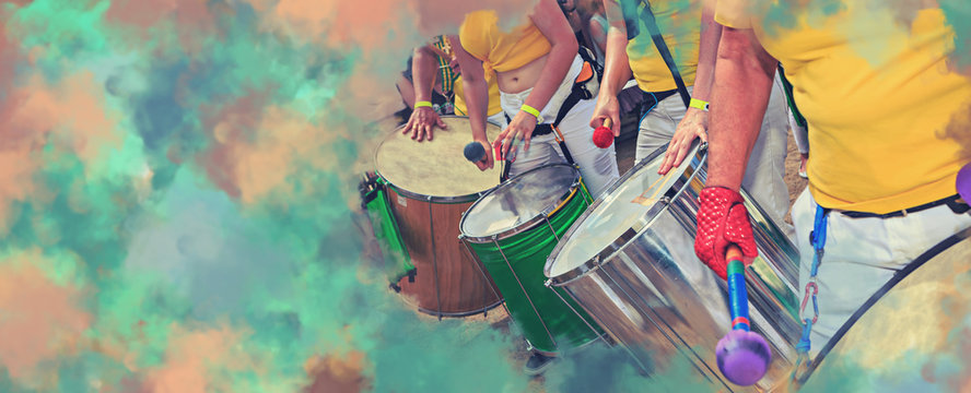 Scenes of Samba festival