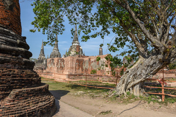 Temple of Ayutthaya historical park