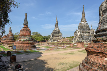Temple of Ayutthaya historical park