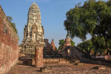 Temple of Ayutthaya historical park, Thailand