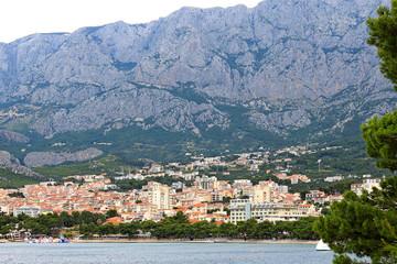 Biokovo mountains near the Makarska Riviera