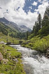 Idylle in den Stubaier Alpen