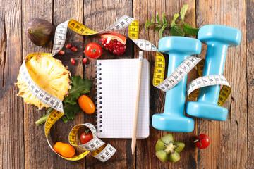 diet food concept