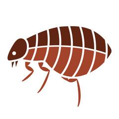 Flea bug icon
