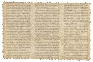 Vintage paper with old newspaper texture
